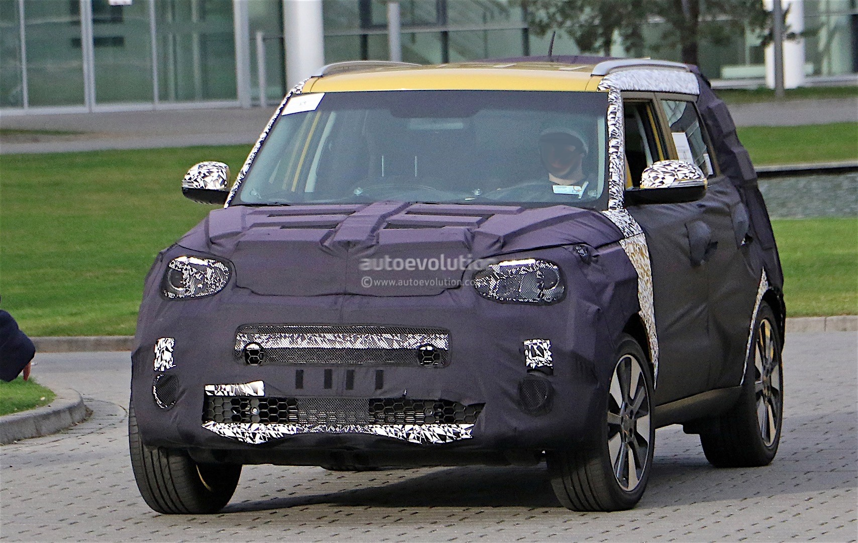 2017 kia soul facelift spotted for the first time. Black Bedroom Furniture Sets. Home Design Ideas