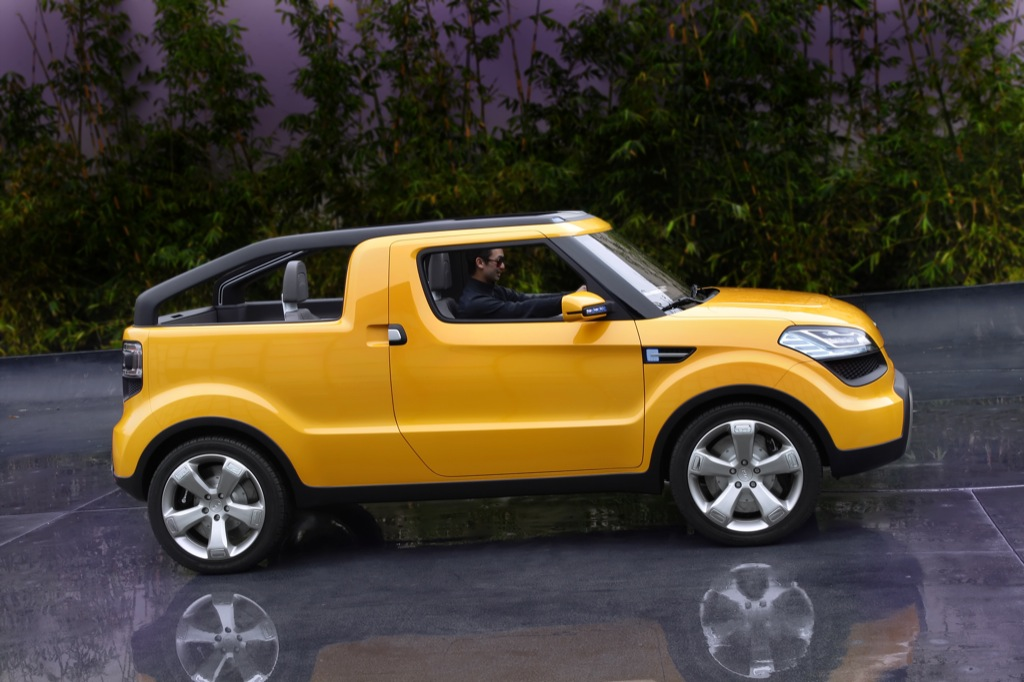 Kia Soul Ster Sees Daylight At Naias Autoevolution
