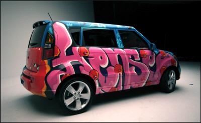 Kia Soul Hense By Adult Swim Released Autoevolution