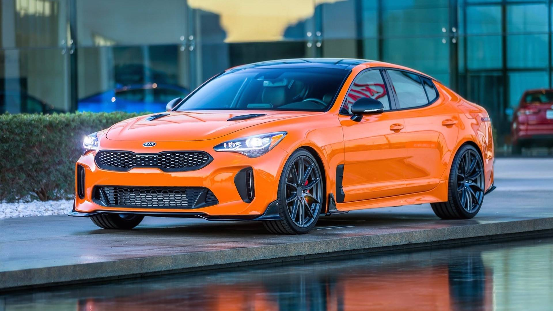kia stinger gt and cadenza tuning projects debut at sema with wcc 39 s help autoevolution. Black Bedroom Furniture Sets. Home Design Ideas