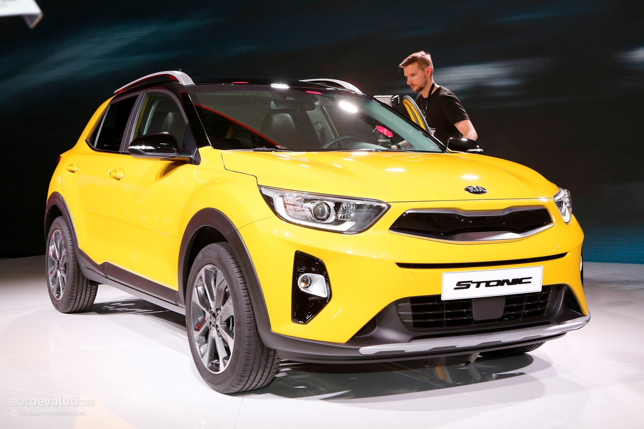 2018 Kia Stonic Looks Conservative Compared To New Hyundai ...