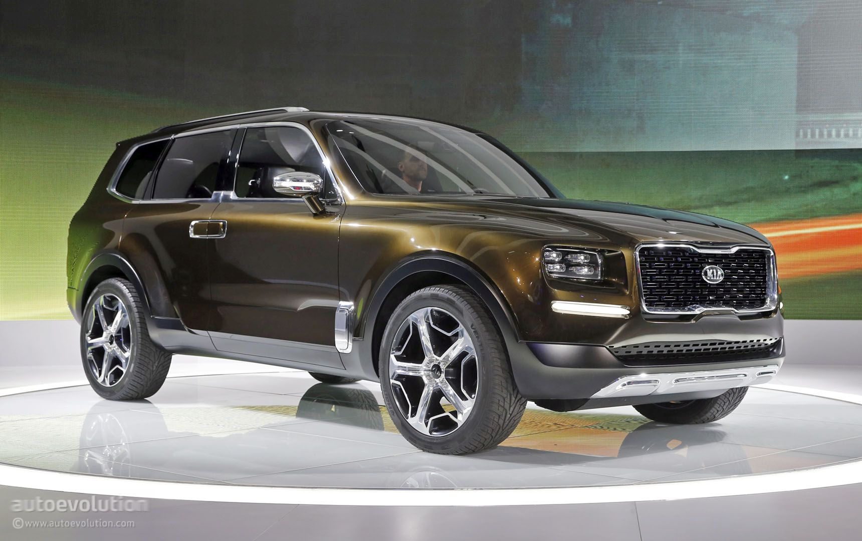 kia telluride concept mixes 400 hybrid hp sorento. Black Bedroom Furniture Sets. Home Design Ideas