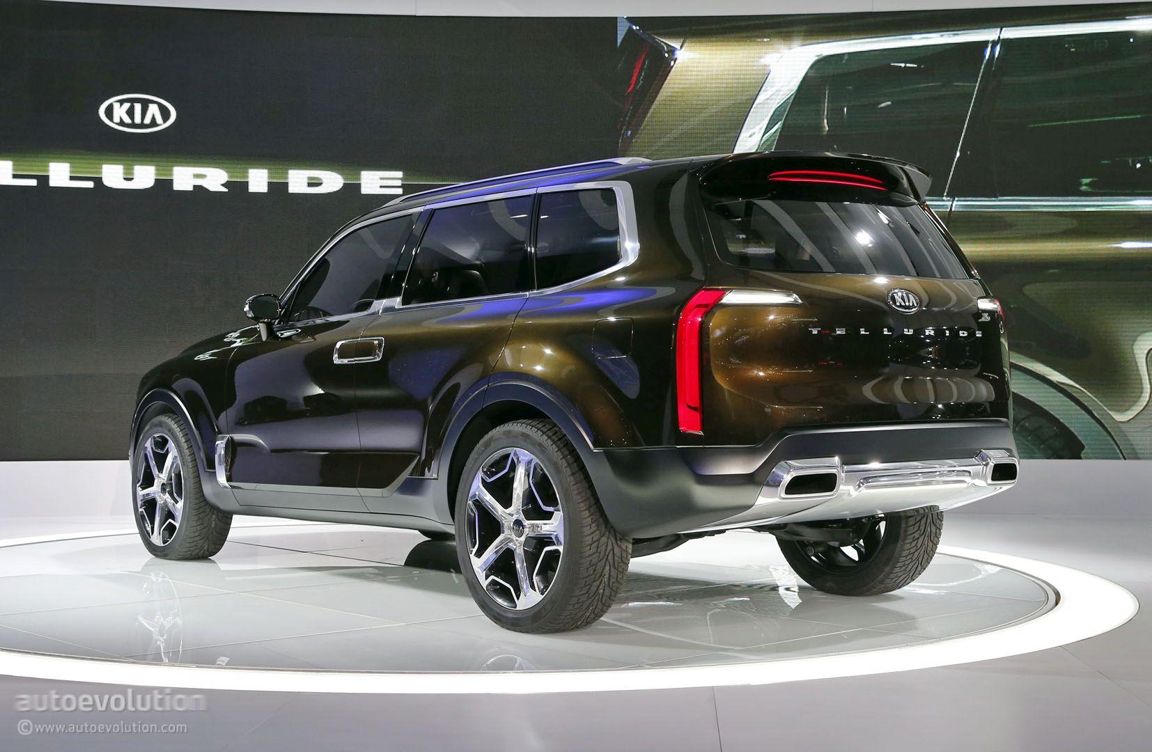 Kia Telluride Concept Mixes 400 Hybrid Hp Sorento
