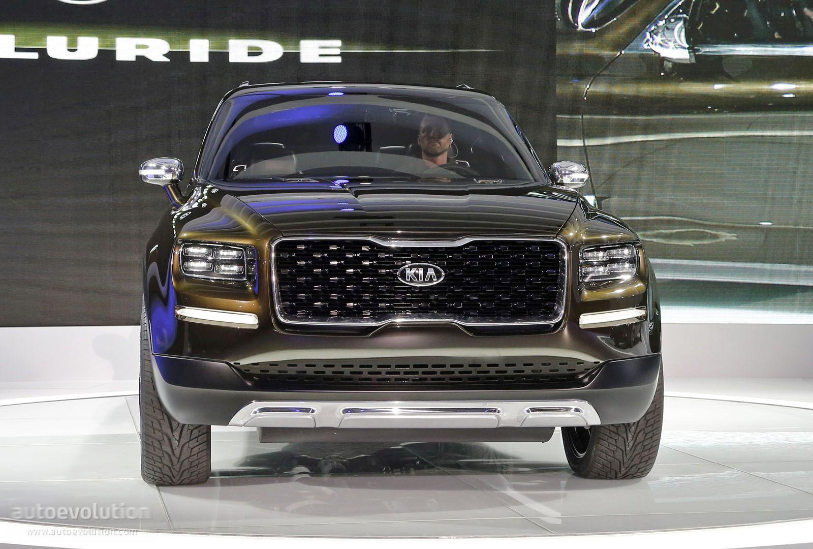 Kia Soul Ev >> Kia Telluride Concept Mixes 400 Hybrid HP, Sorento Platform and Bad Boy SUV Looks - autoevolution