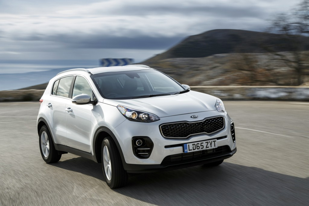 Kia Uk Updates Sportage Crossover For 2017 Model Year