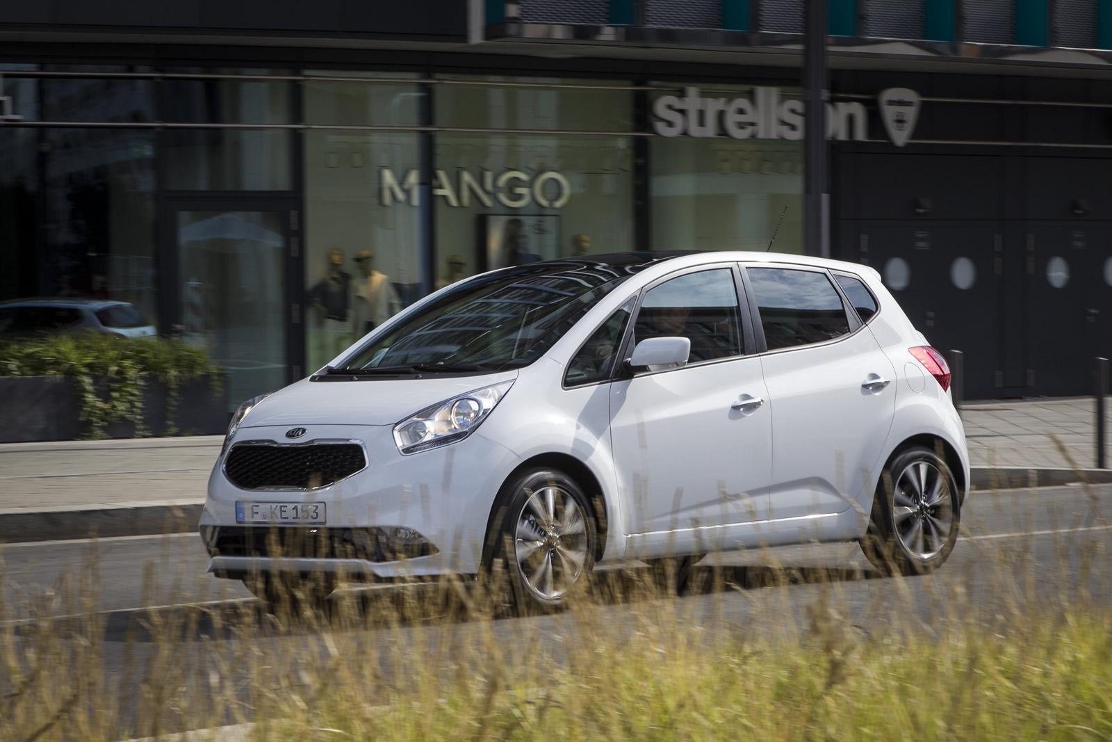 Kia Venga Facelift Breaks Cover Before Paris Motor Show