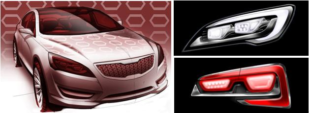 Kia Vg Concept Interior Revealed Autoevolution