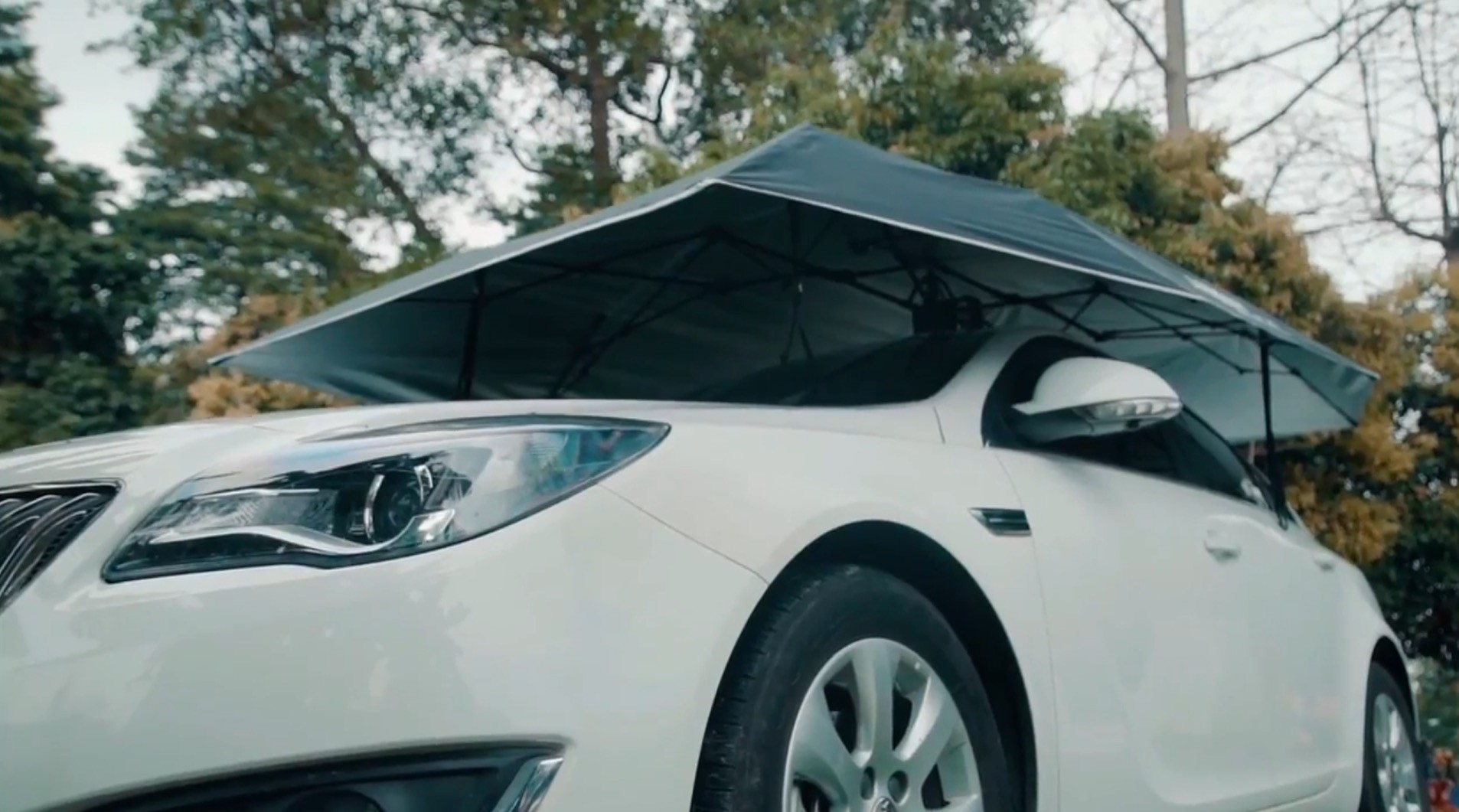 ... an automatic multi-purpose car tent ... & Kickstarter Project Unveils Automatic Car Tent It Costs $292 ...