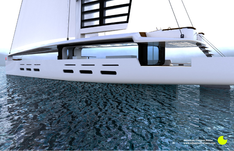 Kira Hybrid Yacht Is Computer Controlled, Solar-Powered and