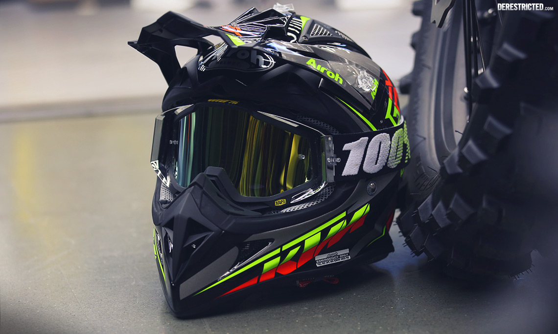 Kiska-Designed 2015 KTM Airoh Aviator 2.1 Helmets ...