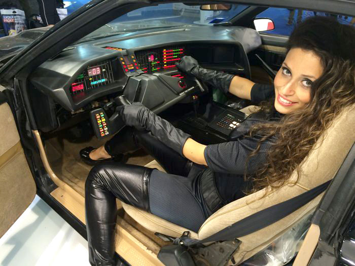Knight Rider Replica for Auction Comes with Voice-Activated Controls
