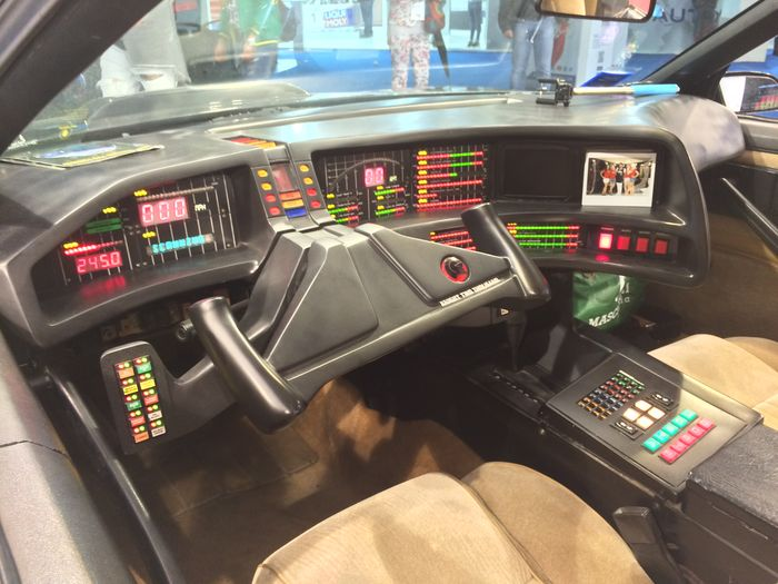 Knight Rider Replica for Auction Comes with Voice-Activated