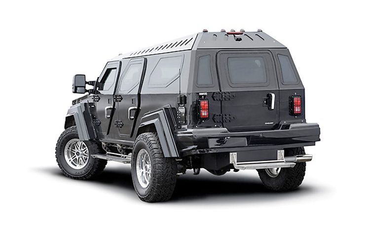 Armored Vehicles For Sale >> Armored Luxury Vehicle for Sale - autoevolution