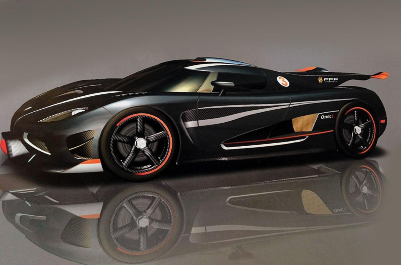 Koenigsegg Agera One 1 Renderings Leaked Autoevolution