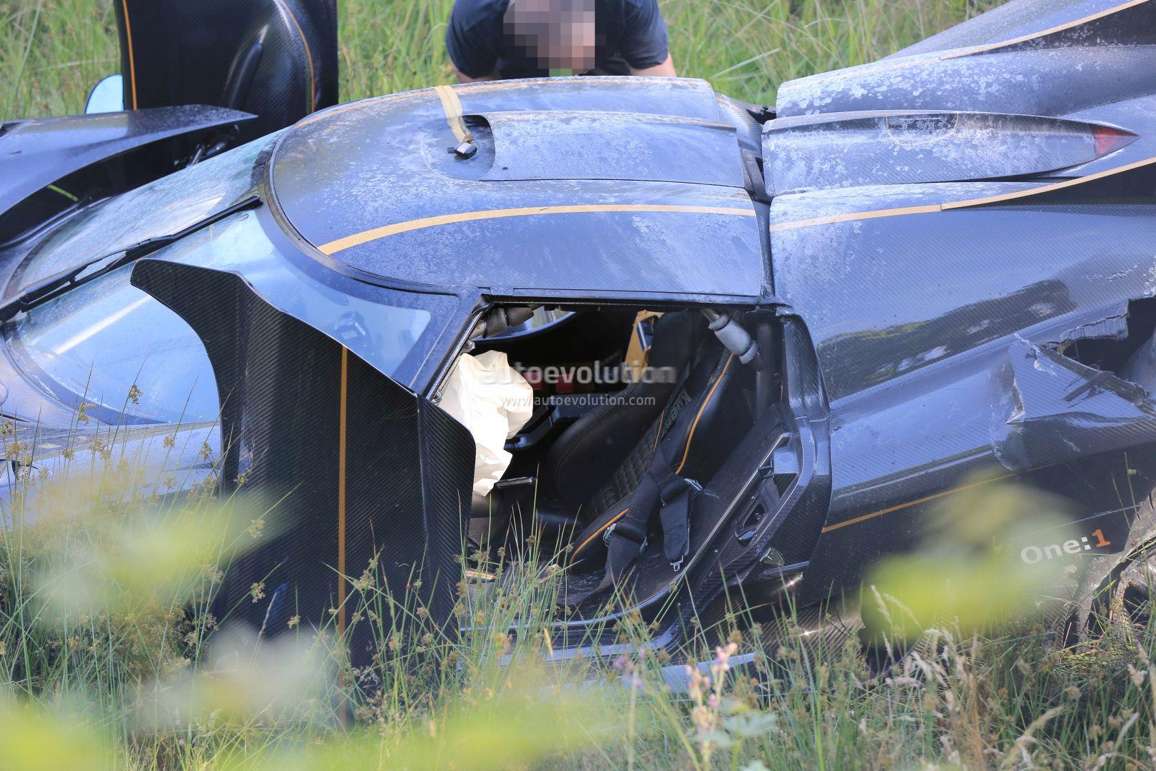 Update Koenigsegg One 1 Destroyed In Nurburgring Crash Hypercar Caught Fire Autoevolution