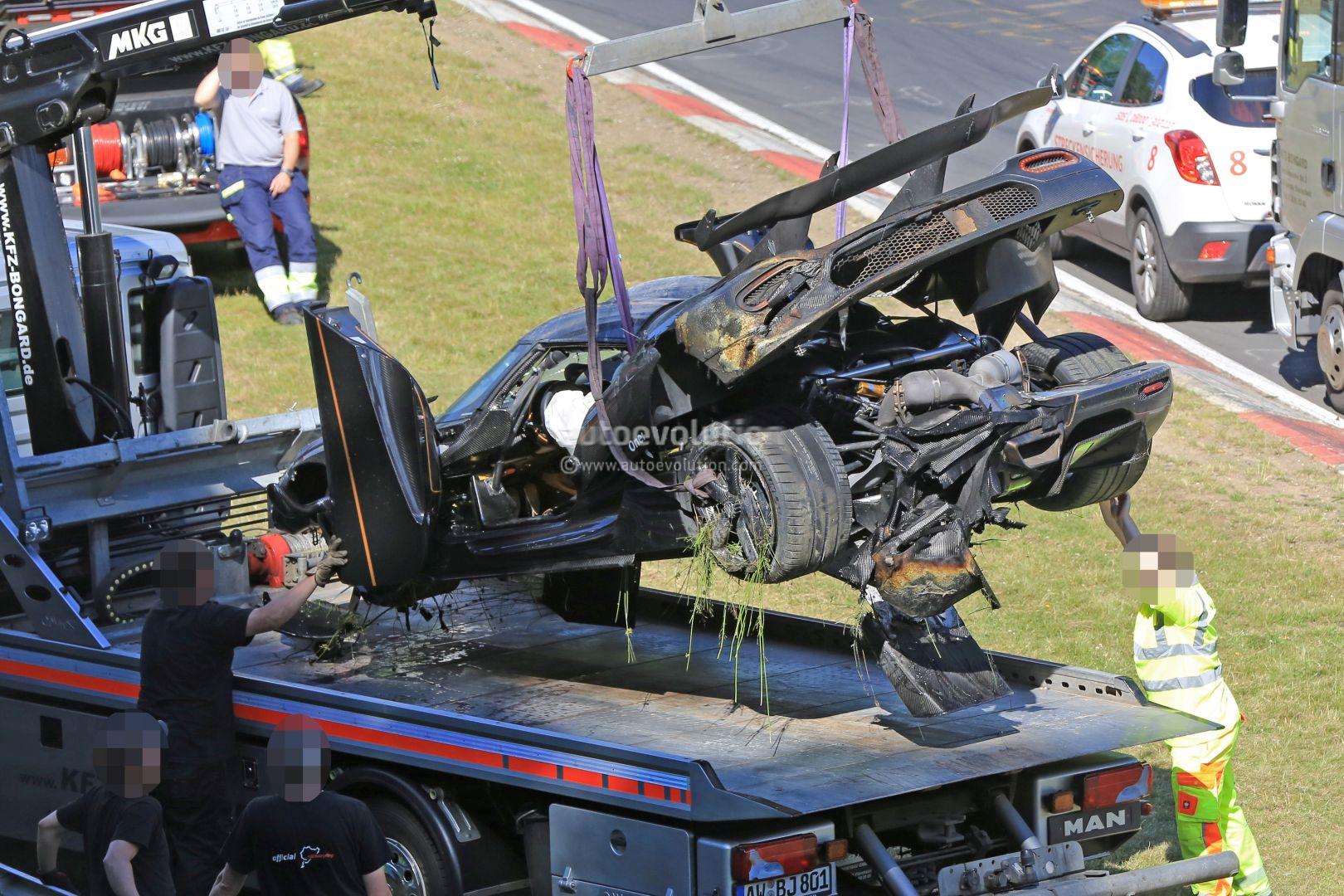 Update Koenigsegg One Destroyed In Nurburgring Crash Hypercar