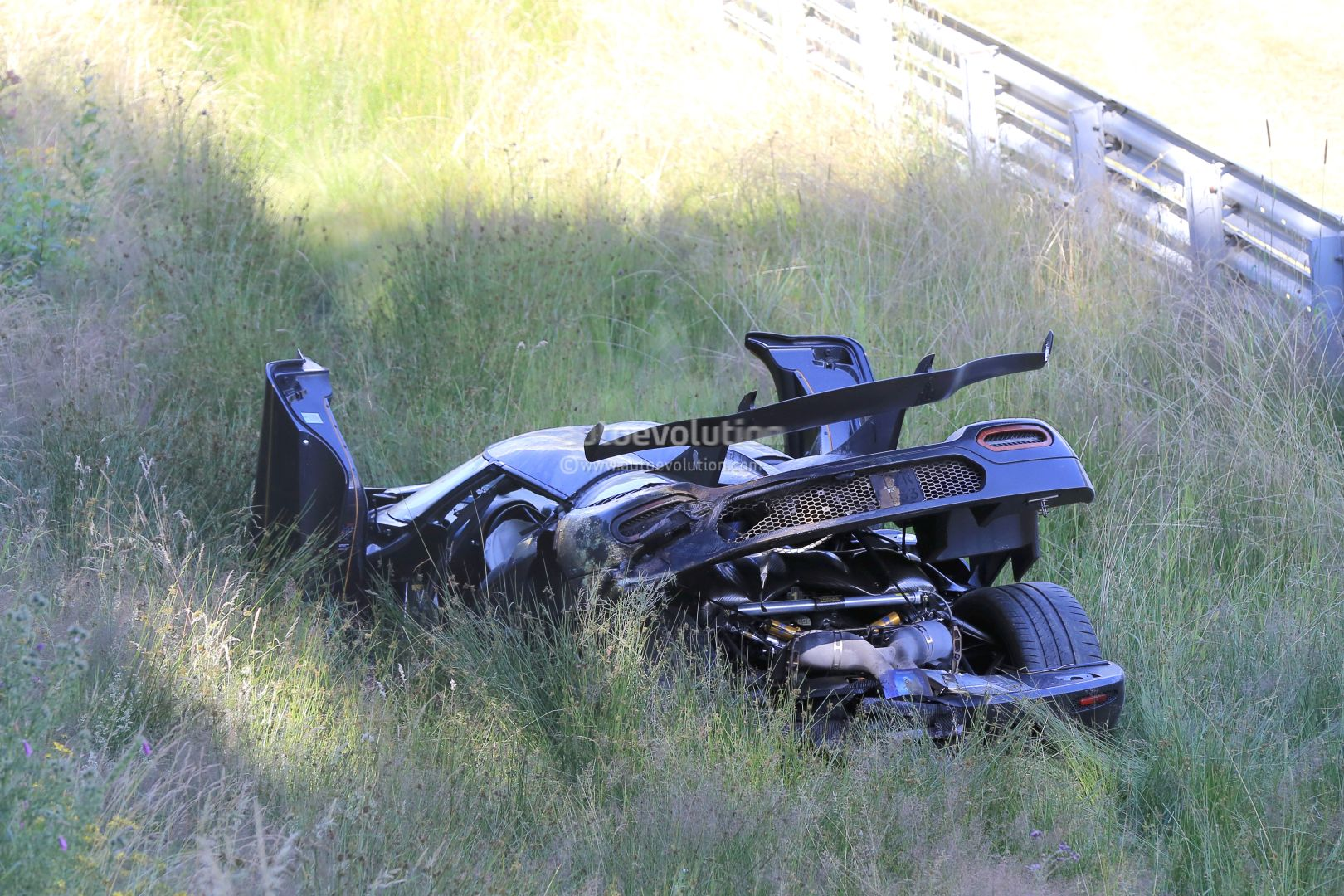 Update Koenigsegg One 1 Destroyed In Nurburgring Crash