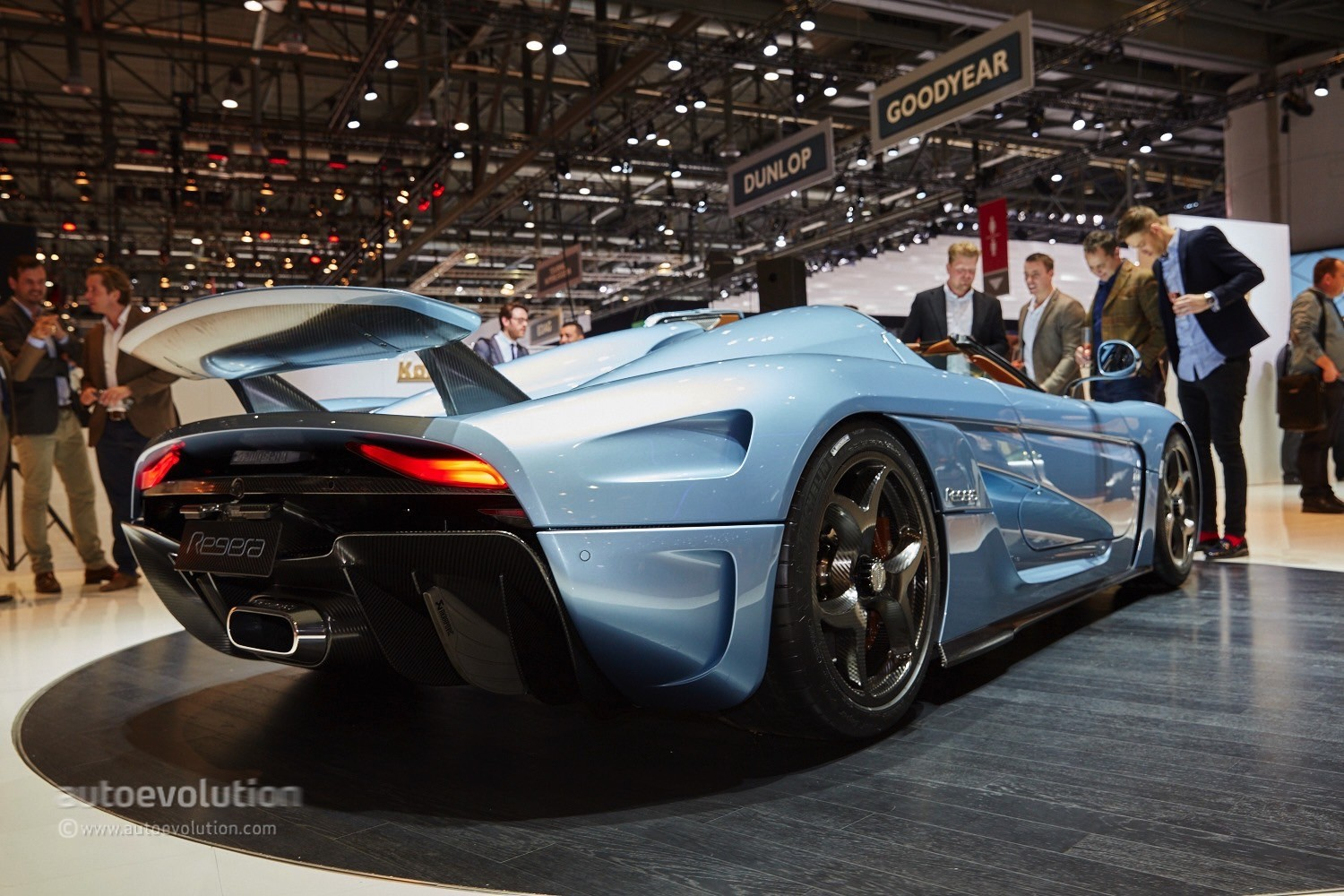 Koenigsegg Regera At The Geneva Motor Show 2017