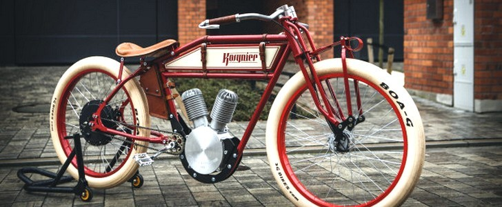 Kosynier Vintage Ebikes Look Like 100 Year Old Motorcycles