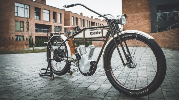 Kosynier Vintage Ebikes Look Like 100 Year Old Motorcycles