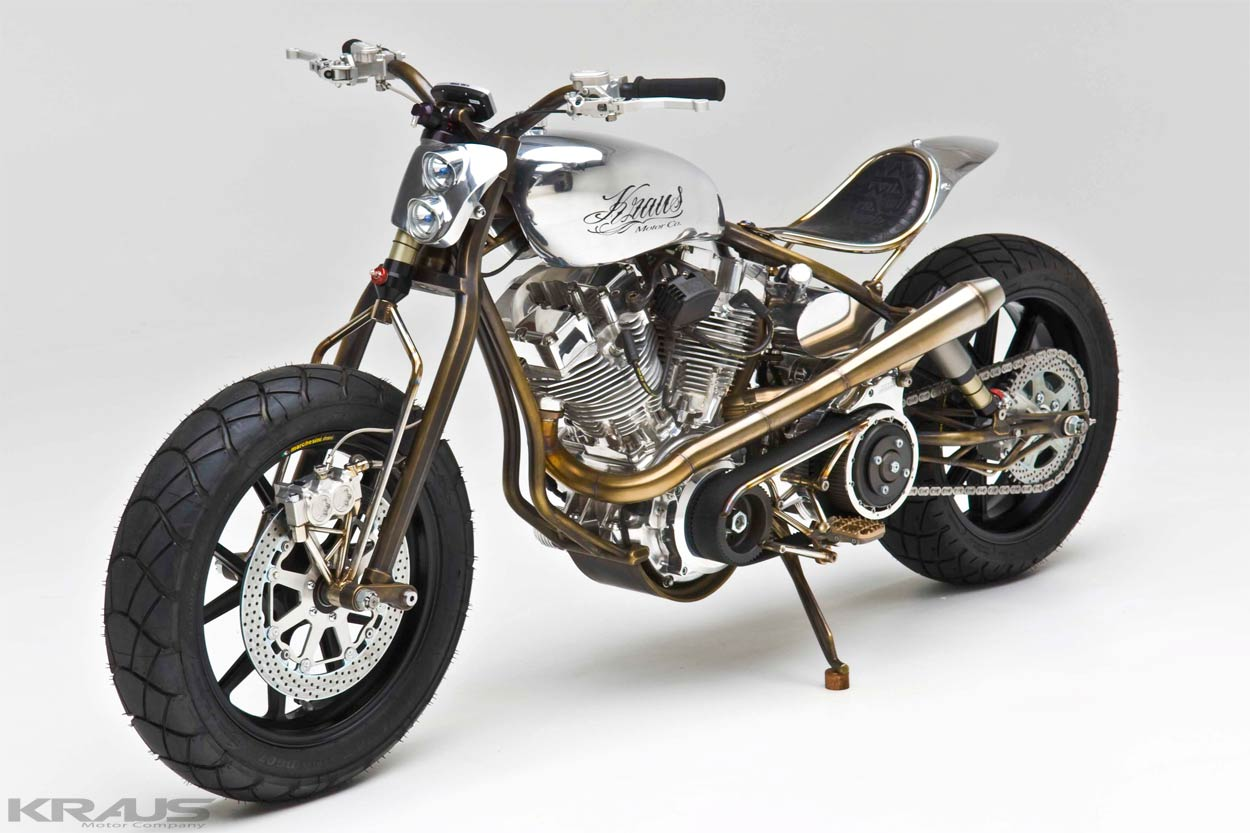 2017 Bmw Motorcycles >> Kraus Achuma, a Breathtaking Modern Steampunk Custom - autoevolution
