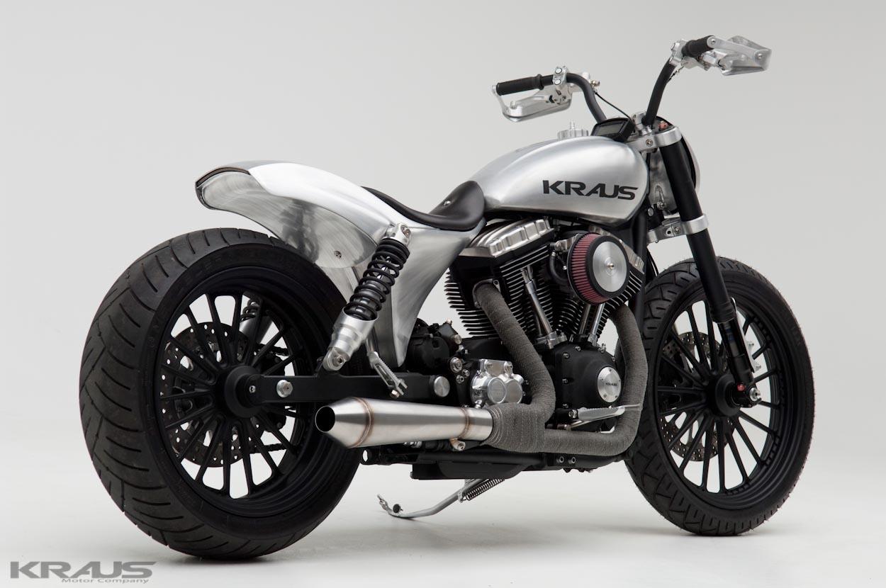 Kraus Nicks Dyna The Way Harley Davidsons Should Look Autoevolution