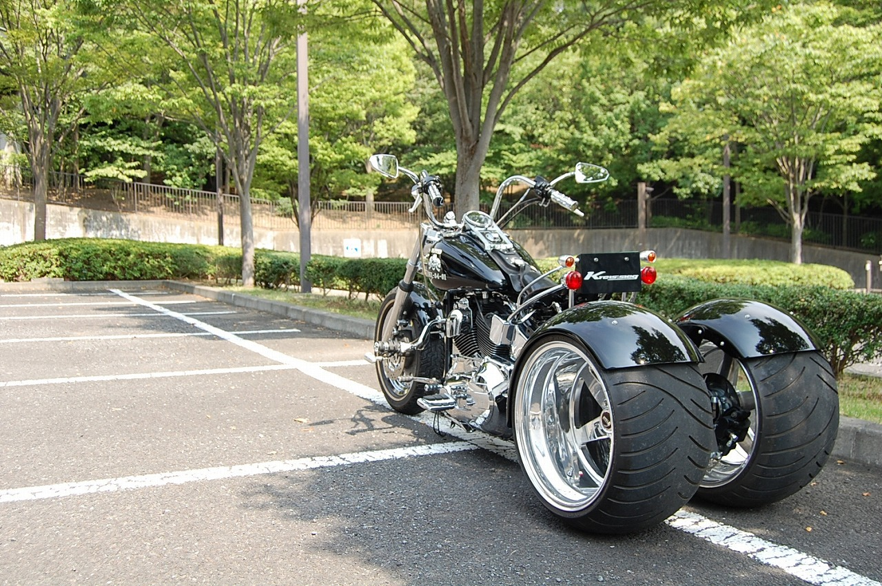 There are some cool trikes and side cars out there