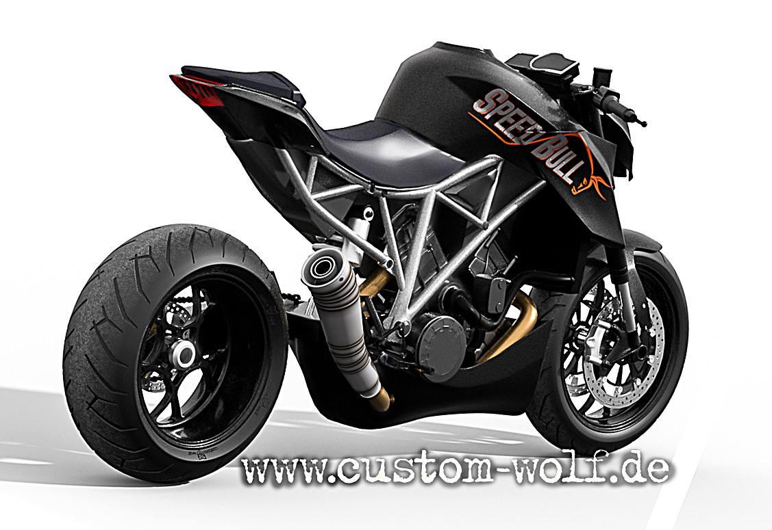 Ktm 1290 Super Duke R Becomes Speed Bull Concept