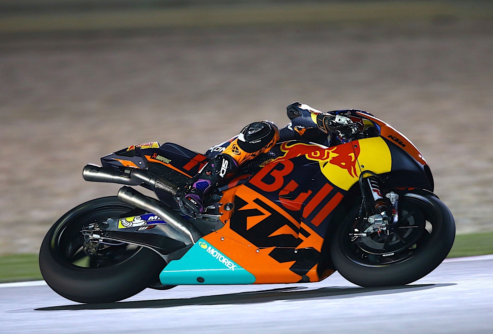 KTM Is Ready To Race Qatar Grand Prix After Final Tests - autoevolution