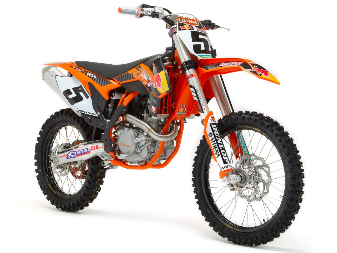 KTM Shows the 2013 450 SX-F Factory Edition