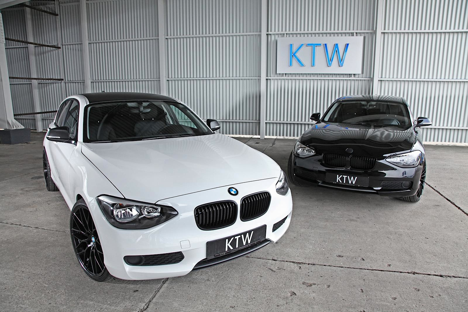 Ktw Launches Black And White Package For Bmw 1 Series