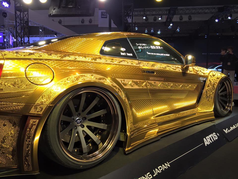 Kuhl Racing Bringing Engraved Golf Nissan Gt R To 2016