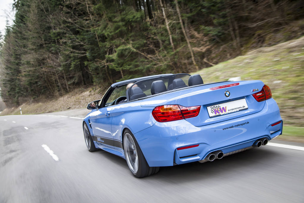 Kw Launches New Coilovers For The 2015 Bmw M4 Convertible Autoevolution