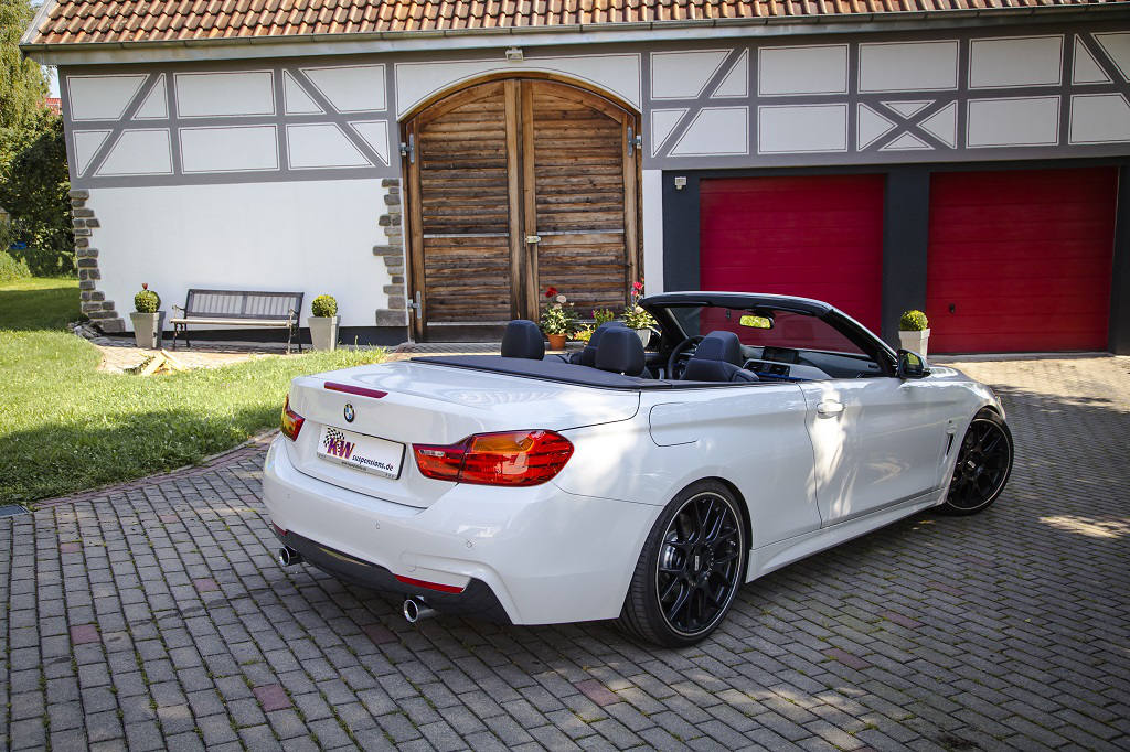 KW Launches Three Coilovers Kits For BMW Series Convertible - Bmw 4 series hardtop convertible