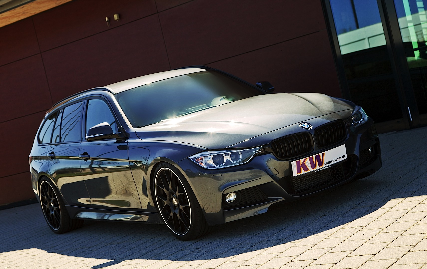 Kw Lowering Suspension For Bmw 3 Series Xdrive Autoevolution