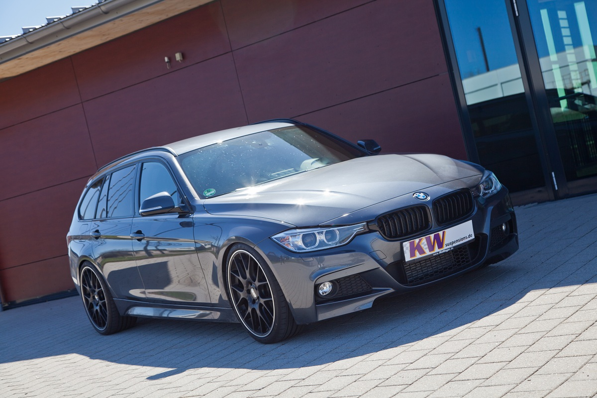 Kw Releases Iphone Controlled Suspension For 2013 Bmw 3