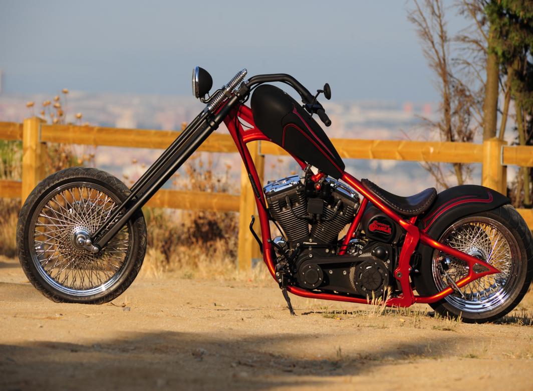 LA Motorcycles Clockwork Orange Is One Sleek Custom