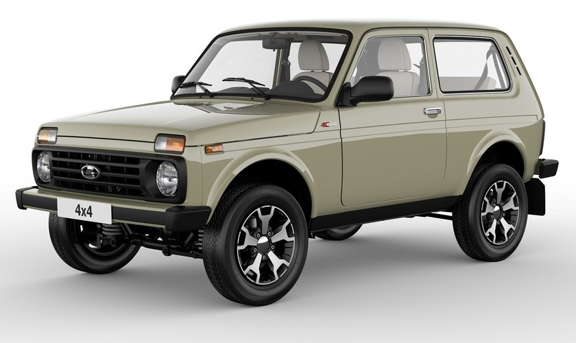 Lada Celebrates 40 Years Of The Niva With Special Edition ...