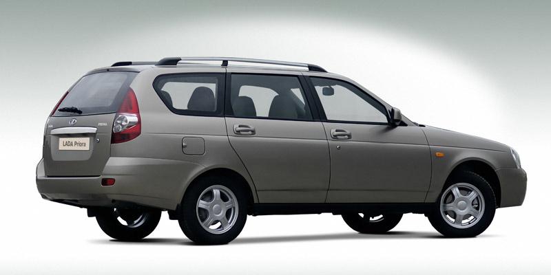 Lada Priora SW in the Spotlight - autoevolution
