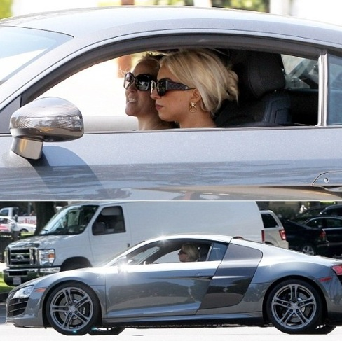 Lady Gaga Buys Audi R8 Autoevolution