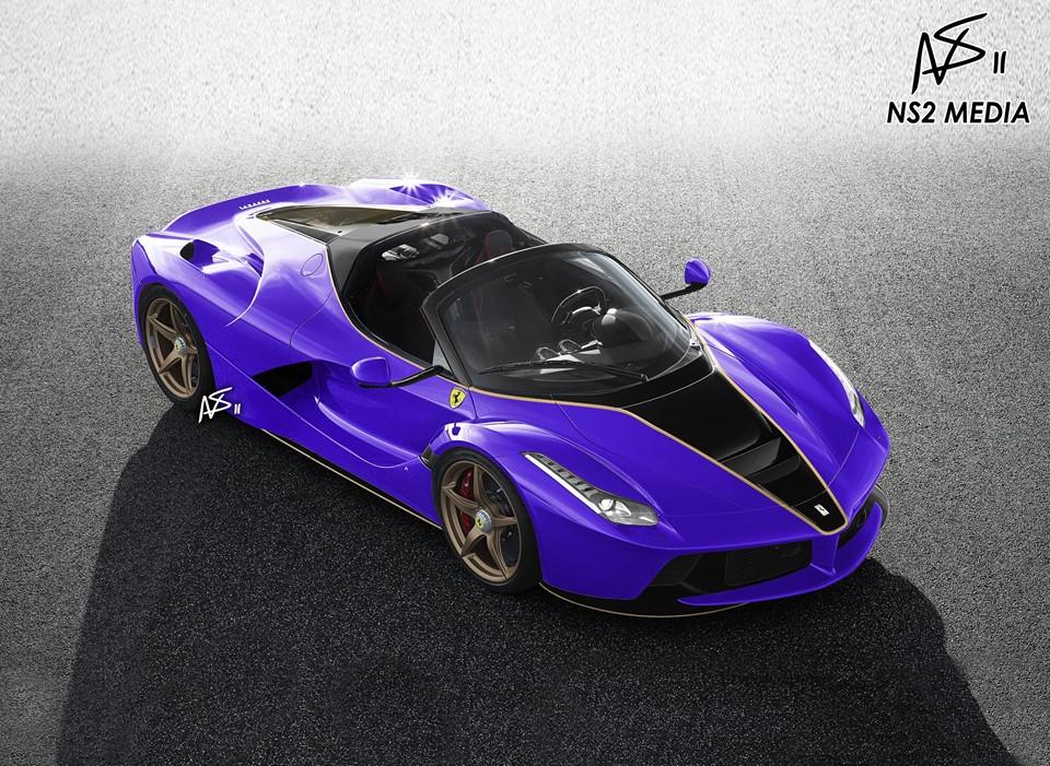 Laferrari Aperta Rendered In Stunning Liveries A Ferrari Tailor Made Preview Autoevolution