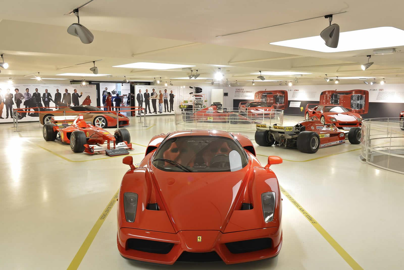 LaFerrari Showcased At The Ferrari Museum In Maranello