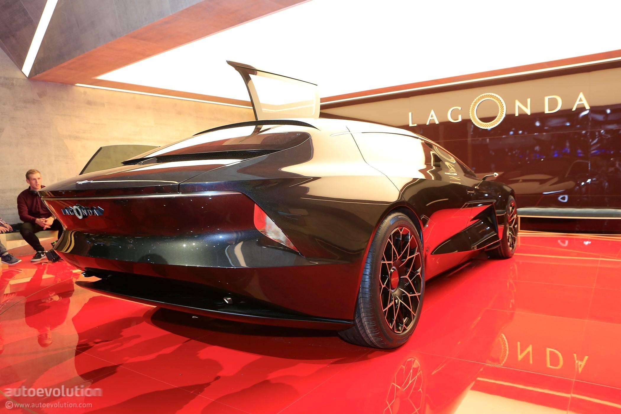 Lagonda Vision Concept Live Pics