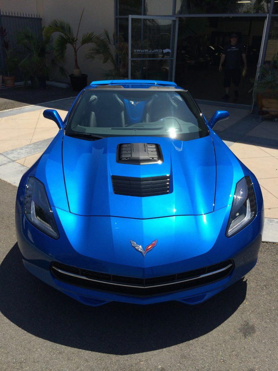 Laguna Blue Callaway Corvette Sc627