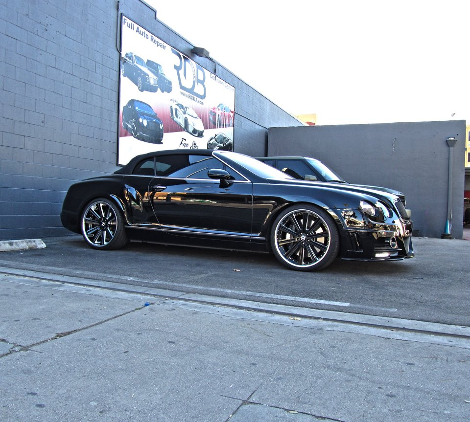 Lakers' Jordan Hill Buys A Bentley GTC