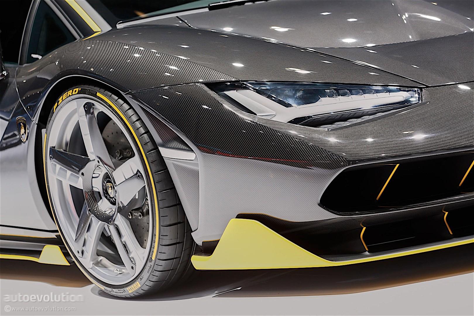 Lamborghini Celebrates Founder S 100th With A Cake On Wheels The Centenario Autoevolution