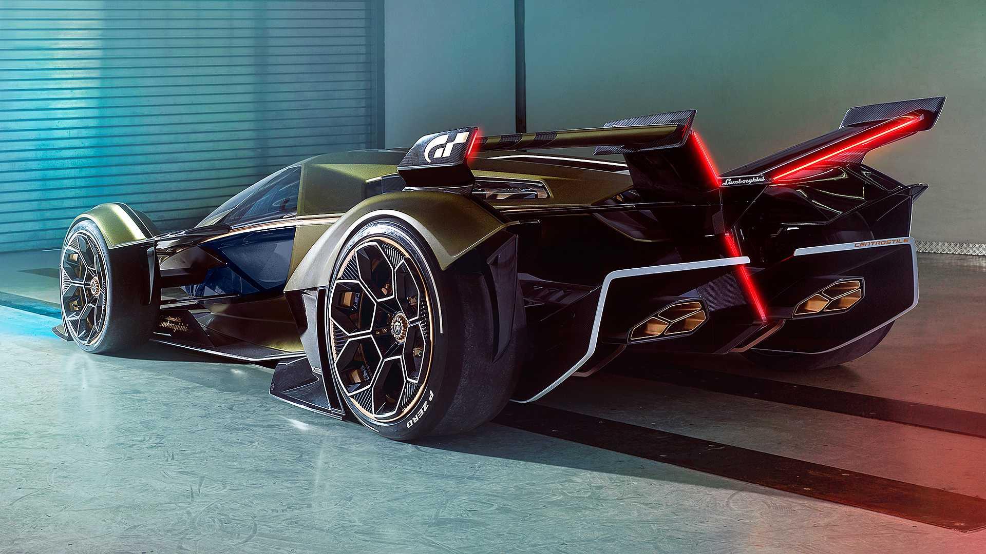 Lamborghini Lambo V12 Vision Gran Turismo concept unveiled in Monaco