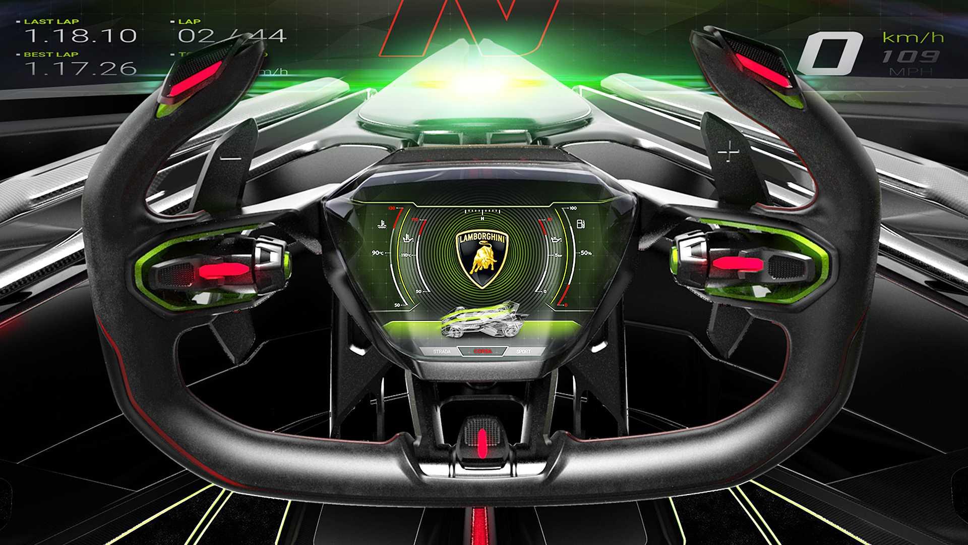 Wild Lamborghini V12 Vision GT concept revealed