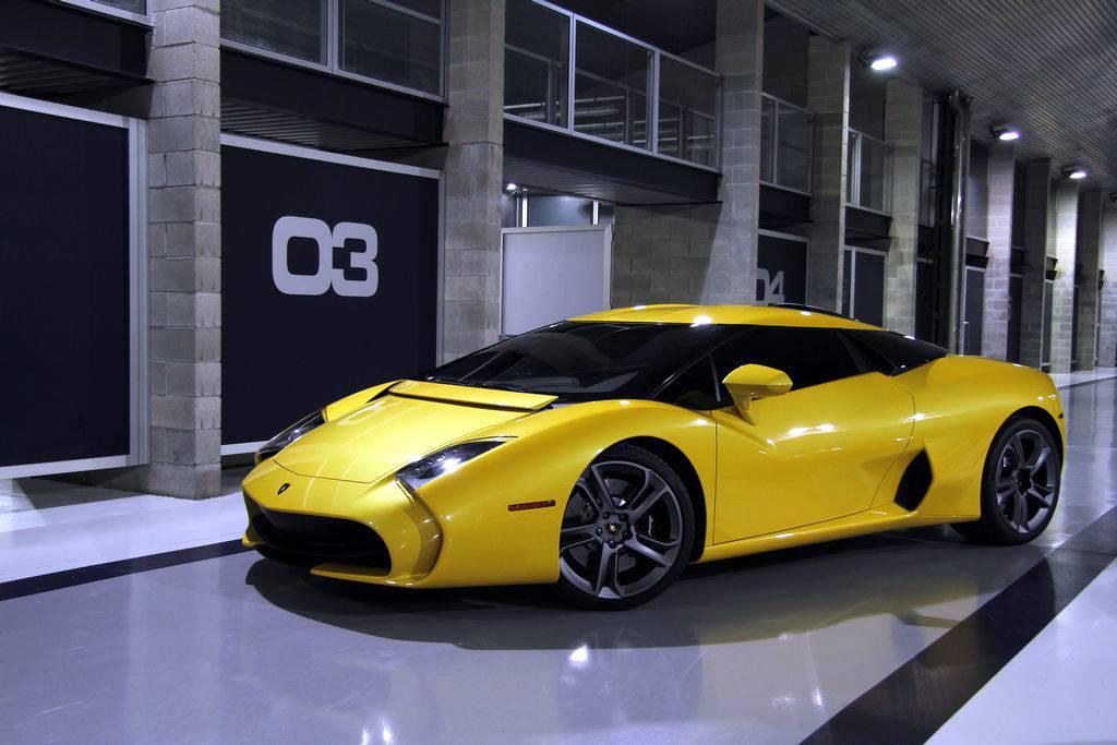 Lamborghini 5 95 Zagato Still Looks Ugly In Yellow
