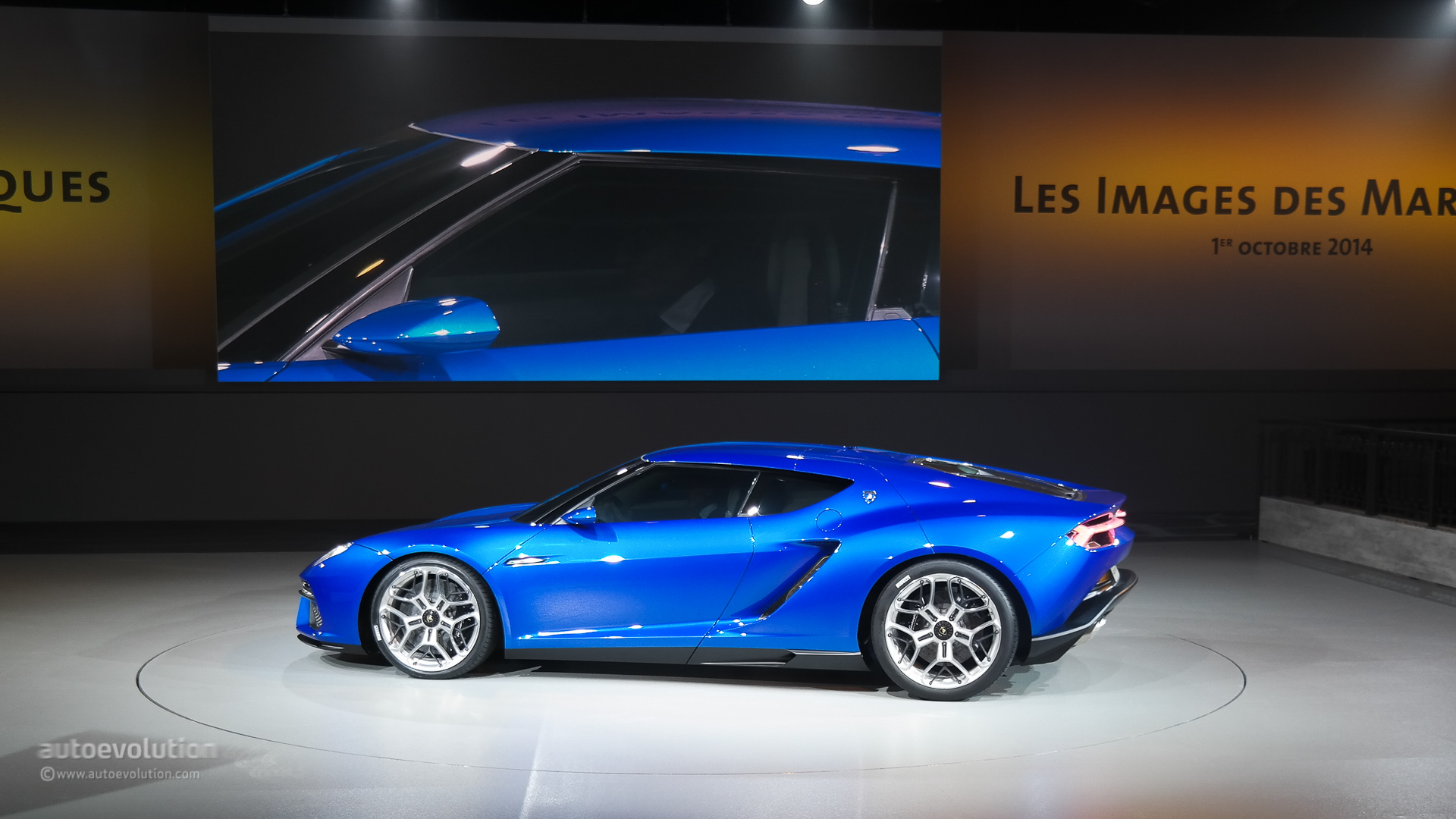 Lamborghini Asterion Lpi 910 4 Looks Like An Estoque Evora Mashup Live Photos Autoevolution